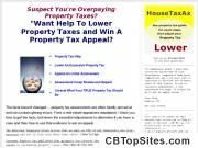 Property Tax Appeals - Property Tax Reduction