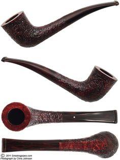 En deze mag er ook best bij: Dunhill Cumberland Zulu pipe (2421) (2010)
