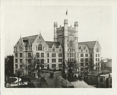 Morris High School, New York  Early 1900s  Back in the day when high schools looked like castles :-)