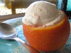 foodista blood orange creamsicle ice cream blood orange creamsicle ...