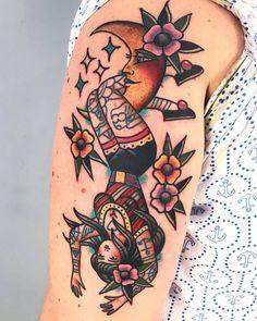 Dani Queipo - My list of best tattoo models Pin Up Tattoos, Finger Tattoos, Love Tattoos, Beautiful Tattoos, Body Art Tattoos, Tattoos For Women, Woman Tattoos, Tattoo Drawings, Tatoos