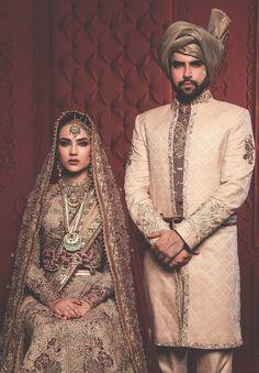 Fahad Hussayn Dulha Bhatti Bridals S/S 2016