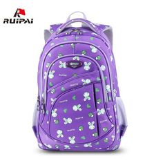 RUIPAI 2017 School Bags for Girls Cute Printing Women's Backpacks Nylon Children Schoolbags for Girl Boys Preppy Style Back pack - Touchy Style Boys Backpacks, School Backpacks, Kindergarten Backpacks, Trendy Backpacks, Nylons, School Bags For Kids, Orange Bag, Girls Bags, Dreams