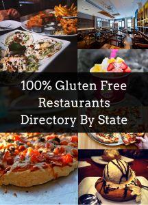 100% Gluten Free Restaurants Directory