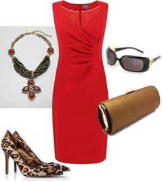Red dress sandals employment