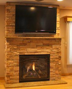 marbella ledgestone fireplace w tv u2013 shepherd stoneworks decorating ideas pinterest stone fireplace surround stone fireplace designs and flatscreen