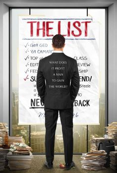 Checkout the movie The List on Christian Film Database: http://www.christianfilmdatabase.com/review/the-list/