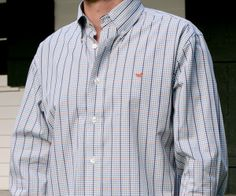 Southern Marsh Collection — The Toulouse Gingham - Wrinkle Free