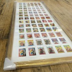 Framed Garbage Pail Kids Collection. Garbage Pail Kids, More Fun, Photo Wall, Cool Stuff, Frame, Artwork, Collection, Home Decor, Cool Things