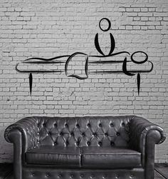 Massage Salon Decoration Spa Beauty Salon Decor Wall Sticker Vinyl Decal (z1127)