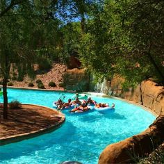 7 Lazy Rivers In Arizona That Are Perfect For Tubing On A Summer's Day Westin Kierland Resort & S Arizona Road Trip, Arizona Travel, Fun Places To Go, Beautiful Places To Travel, Romantic Travel, Vacation Places, Dream Vacations, Dream Vacation Spots, Vacation Deals