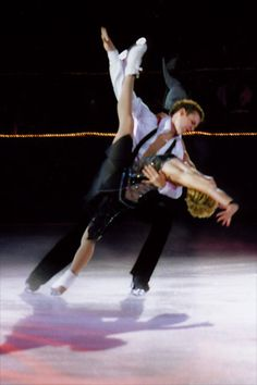 Ice Dancing - cant tell who they are but love the pose!