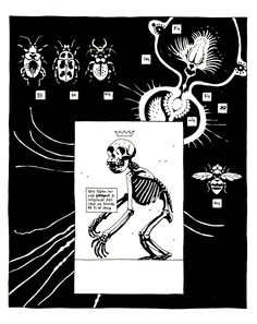 Mike Mignola- Untitled (Weasel #4)