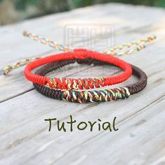 Jingang Knot can be used to make bracelets in various ways. Fabulous Future is not a very new design for me but I think I started to explore the variations of Jingang Knots in this bracelet. A basi...