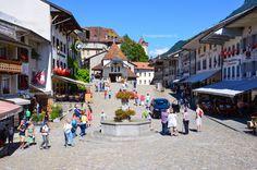 Borgo medievale di #Gruyere #Svizzera