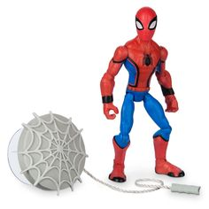 Disney Store SPIDERMAN /& MOBILE PLAYSET Spiderverse TOYBOX Avengers END 2019
