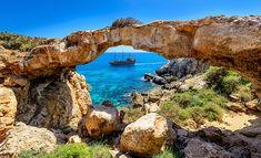 Cape Greco Natural 'Rock Bridge, Cyprus