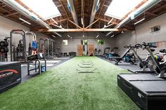 Artificial grass... it's not just for your yard!  #artificalgrass #gymdesign #fitspo #gymlife #healthyliving #fakegrass