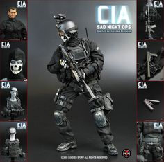 Anime Military, Military Gear, La Confidential, Eminem Rap, Army Clothes, Military Action Figures, Modern Warfare, Special Forces, Law Enforcement