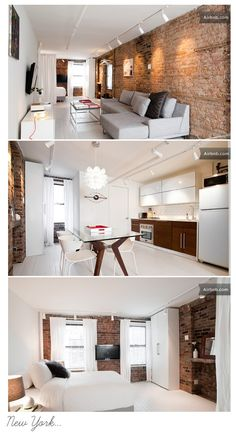 i could definitely live like this...London Flat
