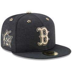 61094daf9 Men's Boston Red Sox New Era Heathered Navy 2017 MLB All-Star Game Side  Patch 59FIFTY Fitted Hat