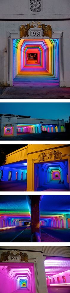 """LightRails"" :: Bill FitzGibbons :: http://www.billfitzgibbons.com"