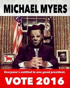 Michael Myers Vote 2016