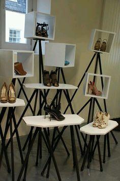 VM | Footware Visual Merchandising | Dover Street Market, London