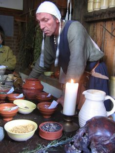 explaining what a medieval doctor would use to make potions