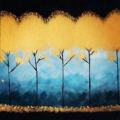 👩🎨 #beautiful #nature #blue #gold #tree #painter #instagood #instaartist #instastyle #instaart #Ipart #paints #acrylicpainting… Blue Gold, Insta Art, Paintings, Artist, Nature, Beautiful, Naturaleza, Paint, Painting Art