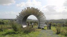 Aeolus at The Eden Project - Acustic Wind Pavilion