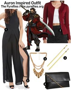 Final Fantasy Fashion - Final Fantasy X 10 Auron Inspired Outfit / Look / Everyday Cosplay