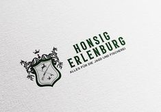 Logodesign branding and design KATJA KOMMT - AGENTUR FÜR BESSERE KOMMUNIKATION – Waffen Honsig-Erlenburg – New brand Design Corporate Design | Christopher Honsig-Erlenburg Business cards © www.katjakommt.at Logodesign, Corporate Design, Hunting, Communication, Weapons, Brand Design, Branding Design