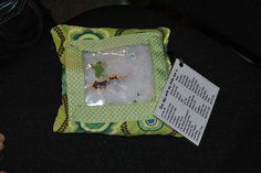 Eye Spy Bag . . .  fun to also make one for each letter in the Alphabet. Fun AND educational!