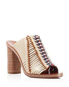 92aa2a2d2683 Tory Burch Pecha Slide High Heel Sandals Heeled Mules