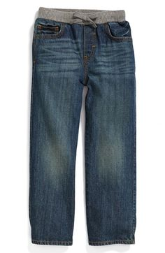 Tucker + Tate Knit Waist Jeans (Toddler Boys & Little Boys) available at #Nordstrom