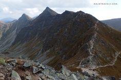 Rohace trail in Western Tatras in Slovakia Steep Rock, Wander, Mount Everest, Westerns, Trail, Mountains, Cool Stuff, Bergen