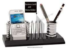 Desk Organizer with Business Card  and Memo holder