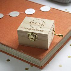 Personalised Music Box