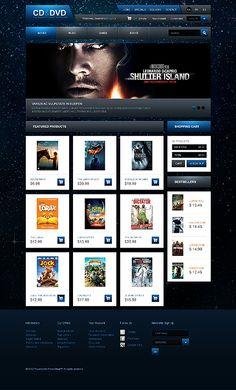 CD & PrestaShop Themes by Ares The Lorax, Web Design, Entertainment, Templates, Website, Store, Blog, Design Web, Business