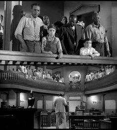"""Miss Jean Louise, stand up. Your father's passin'."" -- #ToKillaMockingBird #GregoryPeck #AtticusFinch"