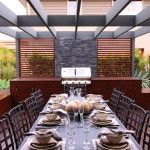Stylish Outdoor Dining Room Design Ideas