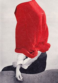 oxane:  Susanne Breuss: Lost clothes (10) by Collage! Collage!