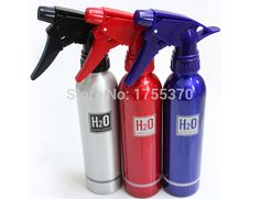 Aluminum Sprayer Adjustable Spray Bottle Hairdressing Flowers Water Sprayer Tool
