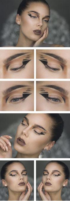How to create a futuristic cat eye