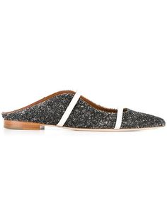 MALONE SOULIERS glitter mules. #malonesouliers #shoes #sandals