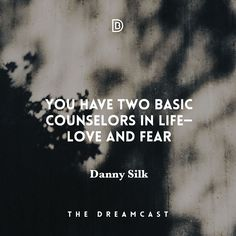 Danny Silk only knows how to hit home runs. This last conversation with him on the Dreamcast Podcast was revolutionary. Check it out this weekend - http://danielbudzinski.com/podcast/danny-silk/