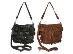 Bosca Amerileather 'Junior Julia' Recycled Leather Handbag. $43.19 from eBags Leafy-style bags made from recycled leather. Not only are they stylish, they are environmentally friendly. Save the world and go green with re-fashioned handbags. Manufacturer: Bosca