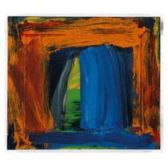 Howard Hodgkin, Navy Blue on ArtStack Patrick Heron, Howard Hodgkin, But Is It Art, Hans Peter, Willem De Kooning, Large Painting, Cool Art, Awesome Art, Printmaking