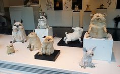 Finlandssvensken i Stockholm: Hundskulpturer av Christina Rosén